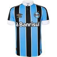 Camisa Umbro Grêmio Oficial 1 2019 Atleta C/N 10 Masculina - Masculino