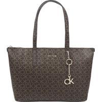 Shopping Bag Monograma - Marrom - U