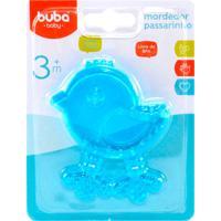 Mordedor Para Bebê Buba Gelado Com Água Passarinho Azul