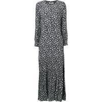 Farfetch  Calvin Klein Jeans Vestido Floral - Preto cd97499ae7