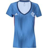 Camisa Do Flamengo Iii 2018 Adidas - Feminina - Azul Vermelho 5f0329e5726ab