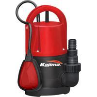 Bomba Submersível Kajima Qw-L105 1/2 Hp Água Limpa Com Boia