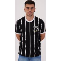 Camisa Corinthians Retrô 1977