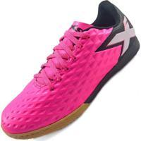 Chuteira Oxn Gênio Iii Pro Futsal Indoor Rosa