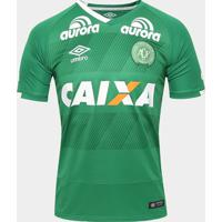 Camisa Chapecoense I 2016 S/Nº Torcedor Umbro Masculina - Masculino