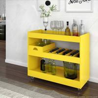 Bar/Aparador 4030 Amarelo - Jb Bechara