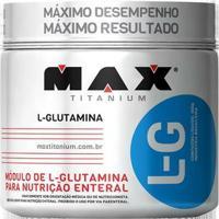 L - G 300G Max Titanium - Glutamina - Unissex