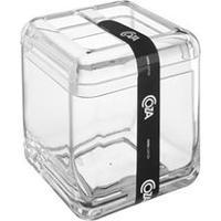 Porta Escova Cube Transparente 20876/0009 - Coza - Coza