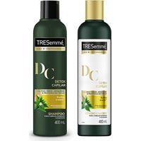 Kit Shampoo Tresemmé Detox Capilar 400Ml + Condicionador Tresemmé Detox Capilar 400Ml - Unissex-Incolor