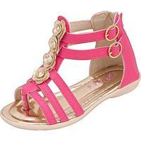 Sandália Infantil Plis Calçados Denguinho Feminina - Feminino-Pink