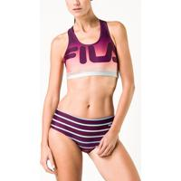 Sunquini Top Degrade Stripes Feminino