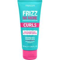 Ativador De Cachos Creightons Frizz No More Hold Moisture Activador Cream 100Ml - Unissex-Incolor