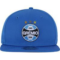 Boné Aba Reta Do Grêmio New Era 950 Of Sn Primary - Snapback - Adulto - 2986aad7b4b