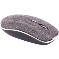 Mouse Twill- Cinza- 7,5X3,5X12,5Cm- Bluetooth