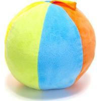 Chocalho De Pelucia Unik Toys Bola Azul