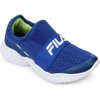 Tênis Infantil Fila Trend - Unissex-Azul Royal