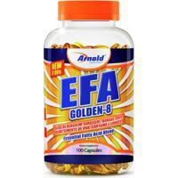 Efa Golden 100 Cáps - Arnold Nutrition - Unissex