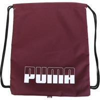 Sacola Puma Plus Gym Sack Ii - Unissex-Vinho+Rosa