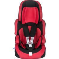 Cadeira Para Auto Protek 9 A 36Kg Preta E Vermelha