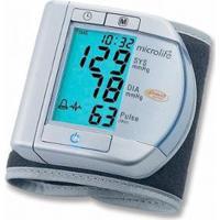 Aparelho De Pressão Digital De Pulso Microlife Bp W100 - Unissex-Cinza