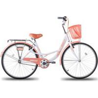 Bicicleta Com Cestinha Mobele Bibi Aro 26 - Unissex