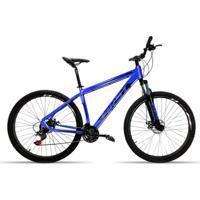 Bicicleta Aro 29 First Smitt 24 Velocidades Cambio Shimano Freio A Disco Suspensão - Unissex