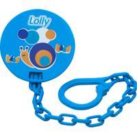 Prendedor De Chupeta Zoo Lolly Baby Azul