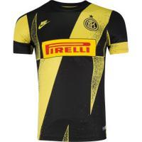 Camisa Pré-Jogo Inter De Milão 19/20 Nike - Masculina - Amarelo