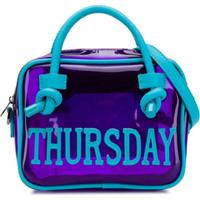 Alberta Ferretti Kids Bolsa 'Thursday' - Roxo