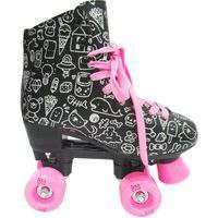 Patins Roller Estilo New Preto N. 34 Dm Toys