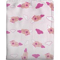 Cobertor Bercinho Flanelado - Ursinha
