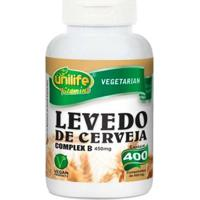 Levedo De Cerveja - 400 Comprimidos - Unilife - Unissex
