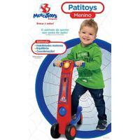 Patinete Patitoys Menino - Mercotys Ref:275