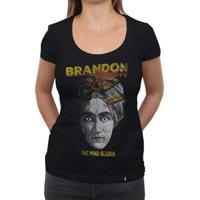 Brandon Flowers - Camiseta Clássica Feminina
