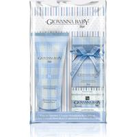 Kit Mini Colonia Giovanna Baby 20Ml + Loção Hidratante Blue 200Ml + 1 Sabonete Em Barra 90G + Necessaire