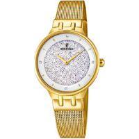 Relógio Festina Feminino Aço Dourado - F20386/1