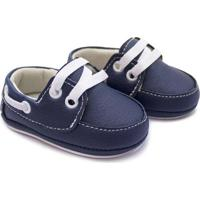 Sapato Para Bebê Infantil Menino Baby Way Azul