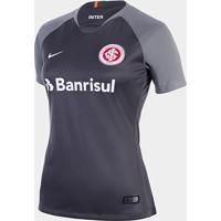 5dc2afffd70 Netshoes  Camisa Internacional Iii 2018 S N° Torcedor Nike Feminina -  Feminino