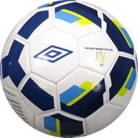 Bola Umbro Hit Supporter Futsal Branca E Azul