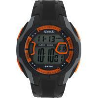 Relógio Speedo 81141G0Evnp3 Preto/Cinza