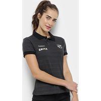 Camisa Polo Ceará Viagem 2018 Topper Feminina - Feminino