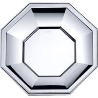 Prato Octagonal- Inox- 3,5Xã˜37Cm- Wolffwolff