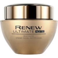 Creme Facial Avon Antirrugas Renew Ultimate Multiação - 50G - Noite - Unissex-Incolor