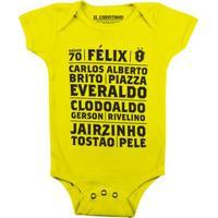 Brasil Mexico 70 - Body Infantil