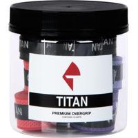 Overgrip Titan Premium Soft Dry Pack Mistas - Unissex