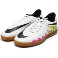 Chuteira Nike Junior Hyper Venom Ph Branco