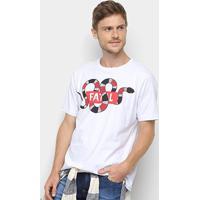 Camiseta Fatal Estampa Cobra Masculina - Masculino-Branco