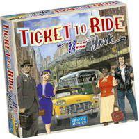 Jogo De Tabuleiro - Ticket To Ride - New York - Galápagos