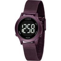 Relógio Lince Classico Sdph115Lpxux Feminino - Feminino-Roxo