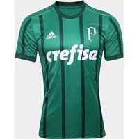 Camisa Palmeiras I S/N° 17/18 - Jogador Adidas Masculina - Masculino